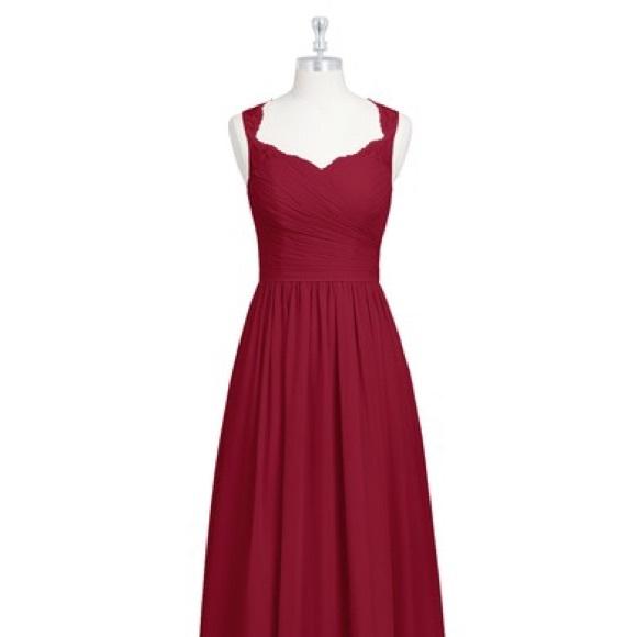 6878c42010c Azazie Dresses   Skirts - Azazie Danny Burgundy Red Formal Bridesmaid Dress